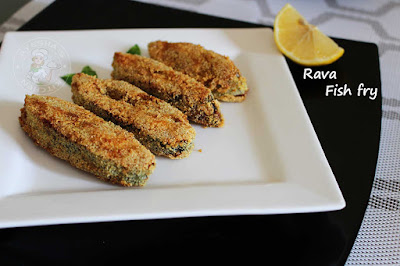 rava fish fry semolina fish fry restaurant style fried fish
