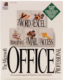 Efemerides de Tecnologia: 19 de Noviembre (1990) Microsoft lanza su primera  versión de Office para Windows