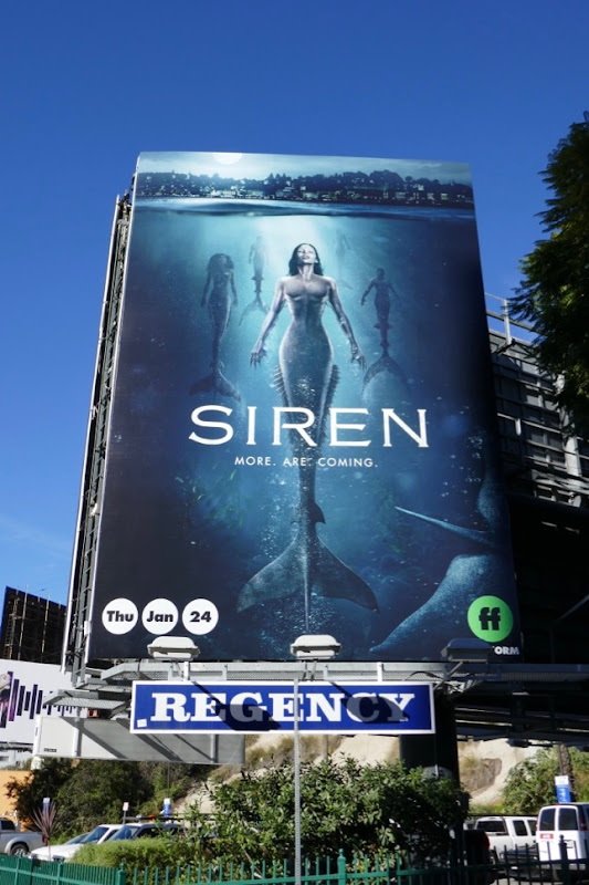 Siren season 2 billboard