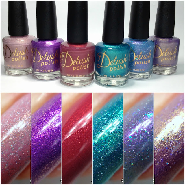 Delush Polish-Mermaid Diaries Collection