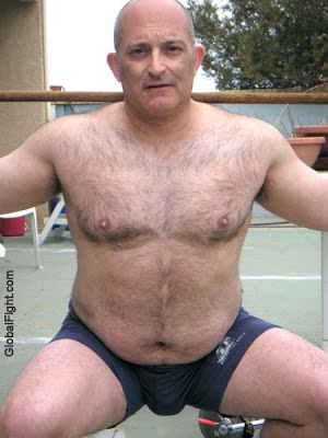 hairy sexy dad - big daddy - big gay