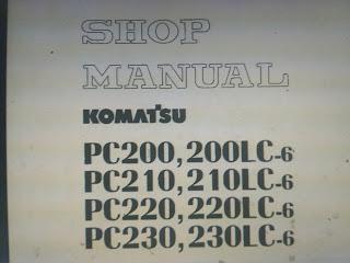 Pc200-6 pc200lc-6 pc210-6 pc210lc-6 pc220-6 pc220lc-6 pc230-6 pc230lc-6