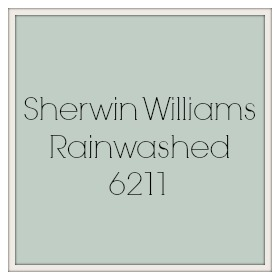 From My Front Porch To Yours- Sherwin Williams Paint Swatch Rainwashed