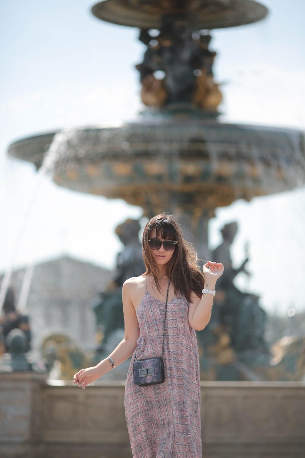 巴黎博客,结伴见面,风格,街头风格,夏天,巴黎风格
