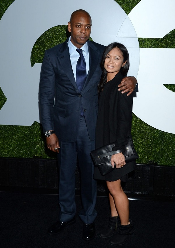 Join. Who is dave chappelle asian wife