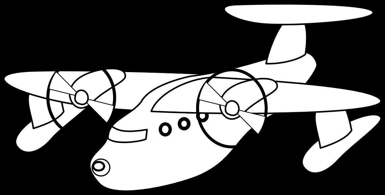Mewarnai Gambar Pesawat Terbang Free Download BLOG MEWARNAI