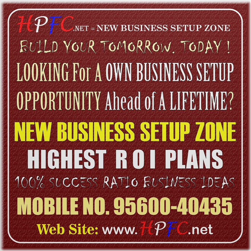 New Business Setup Ideas High Returns on Investments ROI in Gurugram, Gurgaon Zone