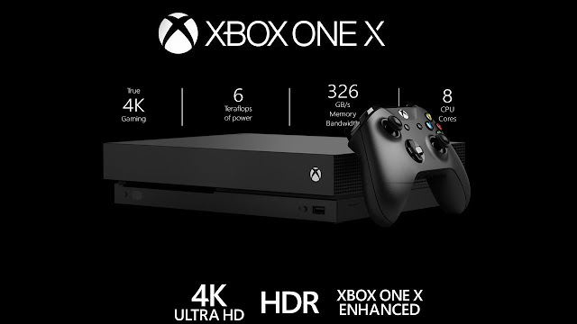 Microsoft-Xbox One X-cea mai puternica consola