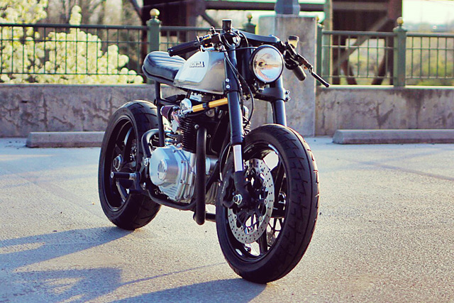 Honda CB350 độ Cafe Racer