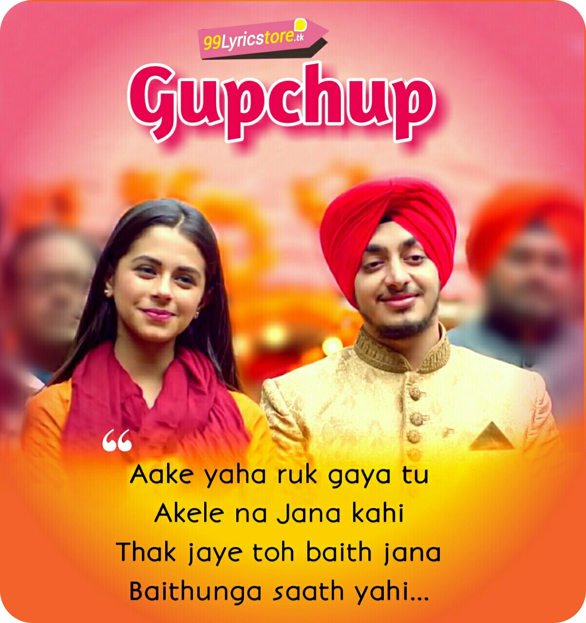 Jaspreet Juneja Song Lyrics, Jaspreet Juneja Song, Jaspreet Juneja Song 2018, Rits Badiani Song Lyrics, Rits Badiani Song images, Gupchup Song Lyrics, Gupchup Song images, Love Song Lyrics, Love Song Quotes