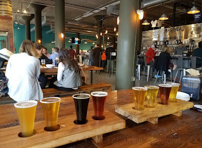 beer flights, cleveland brewery, craft beer