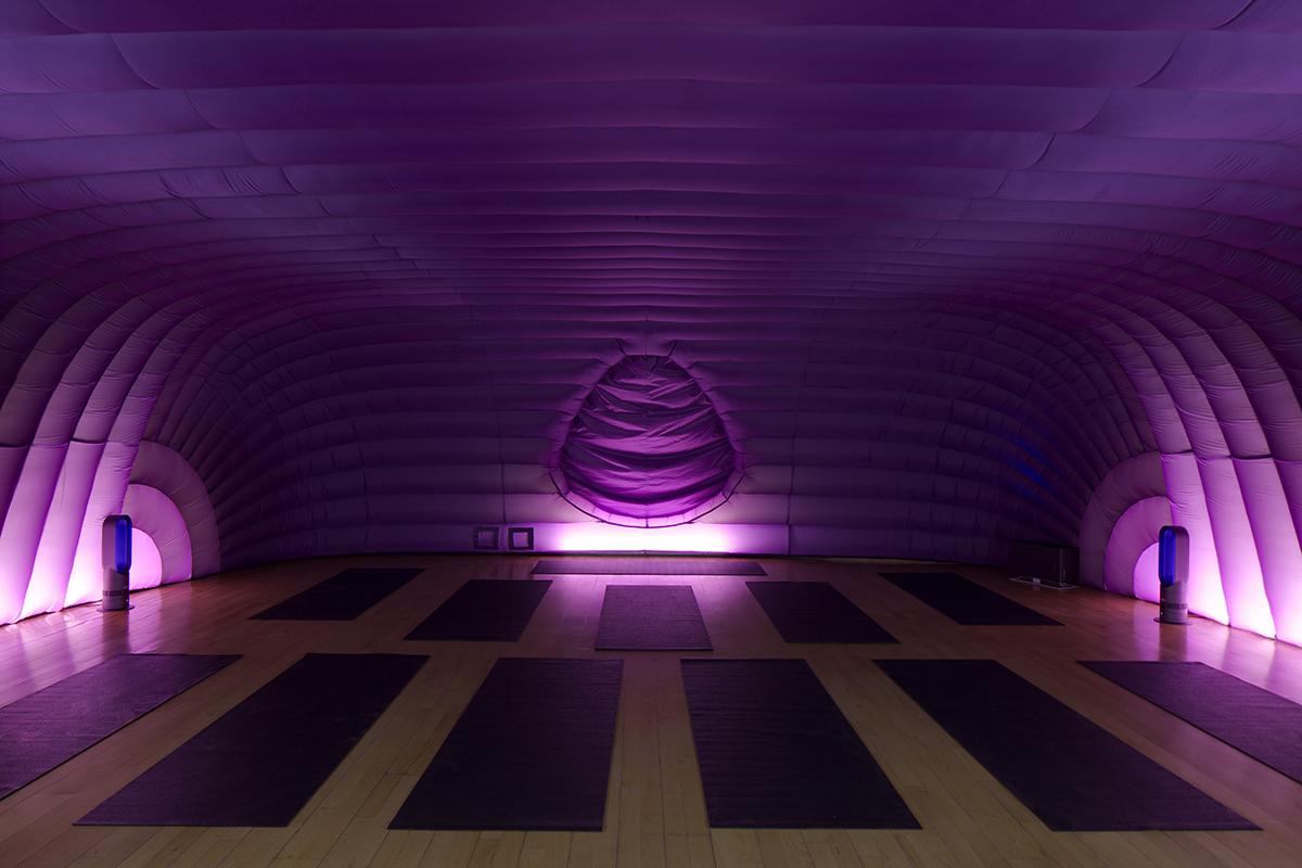 Hotpod yoga in Cardiff