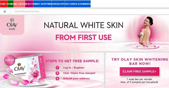 Free Olay Skin Whitening Bar - Grab one while it lasts!