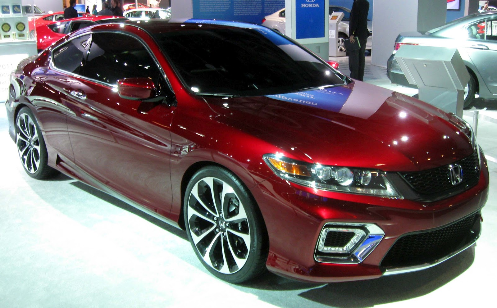 The Honda Accord 2013