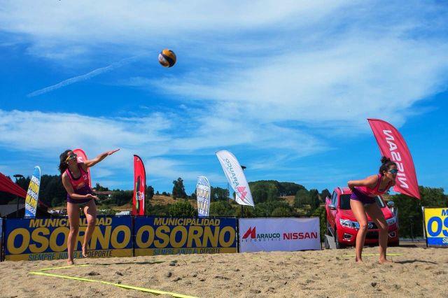 """Osorno: abiertas las inscripciones para  """"Campeonato de voleibol playa duplas 2020"""""""