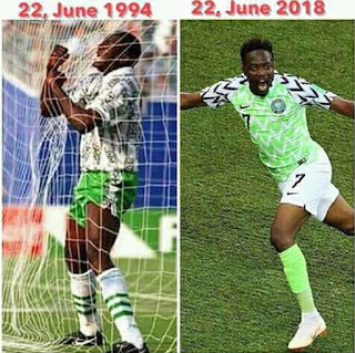 Stop Praising Only Musa So His Team Mates Do Not Get Jealous And Choke Him Out Like Yekini In 1994""