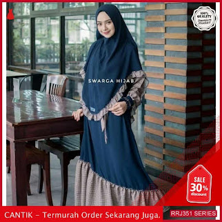 Jual RRJ351D195 Dress Naima Bergo Wanita Plus Set Khimar BMGShop