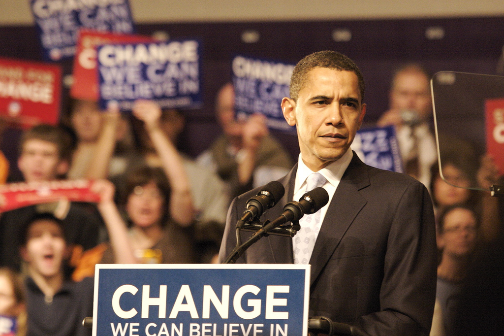 IELTS Speaking-Barack Obama Speech