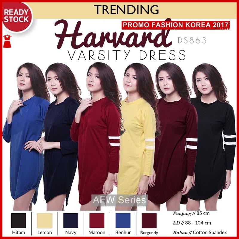 BAMFGW134 Harvard Dress Kaos Wanita PROMO BMG