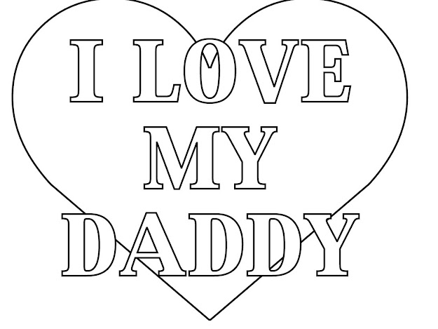 Fathers Day Card Coloring Pages  Free Large Images
