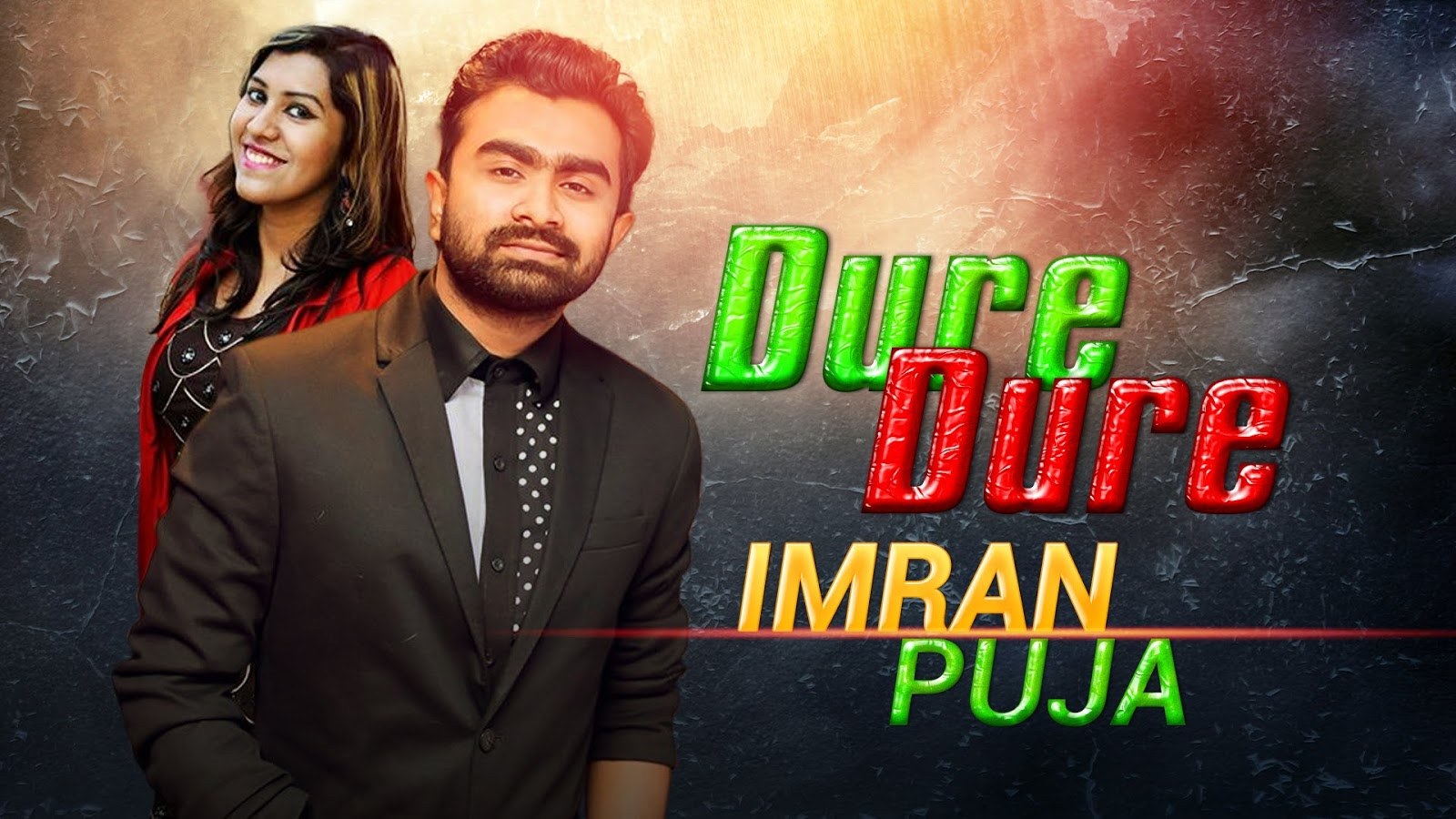 BDMusic66: Dure Dure Imran ft Puja Bangla Music Video HD
