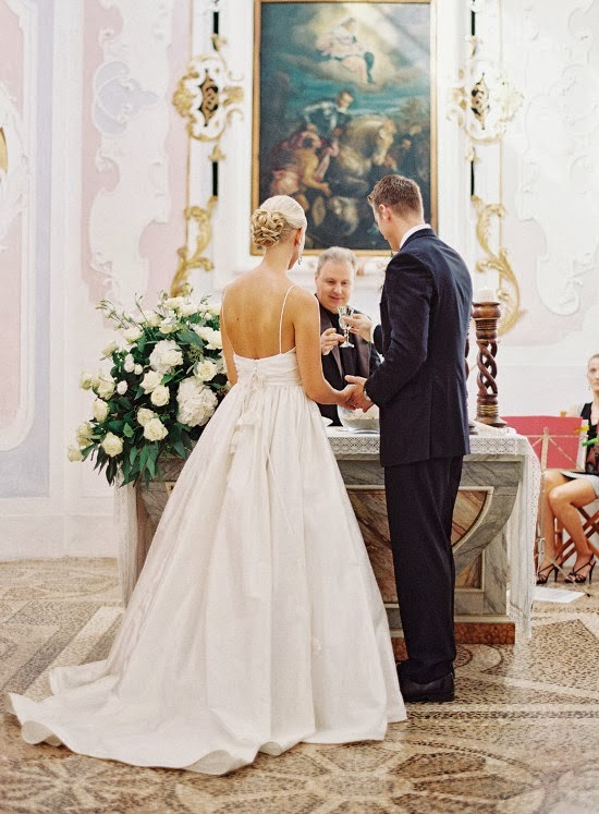 stunning Italy wedding