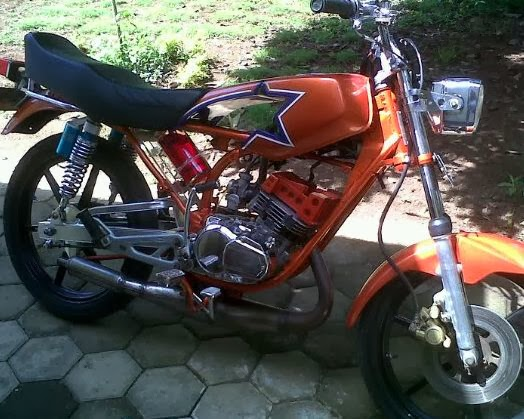 modifikasi motor king
