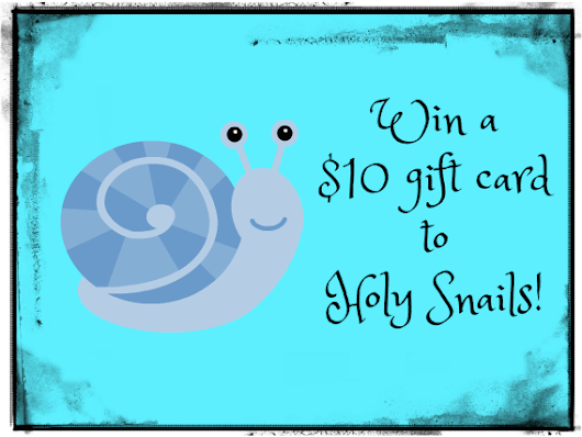 Win a Holy Snails Gift Card!