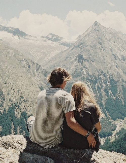 975ac169ed96 Hiking gives you a romantic setting IF you want it to. A gorgeous view  gives you the opportunity to be romantic