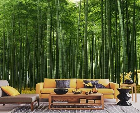 Wallpaper Dinding Rumah bermotif Alam dan Hewan
