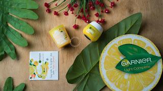 review garnier light complete white speed yuzu serum cream
