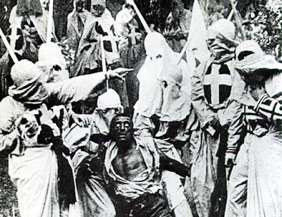 Klansmen in Birth of a Nation