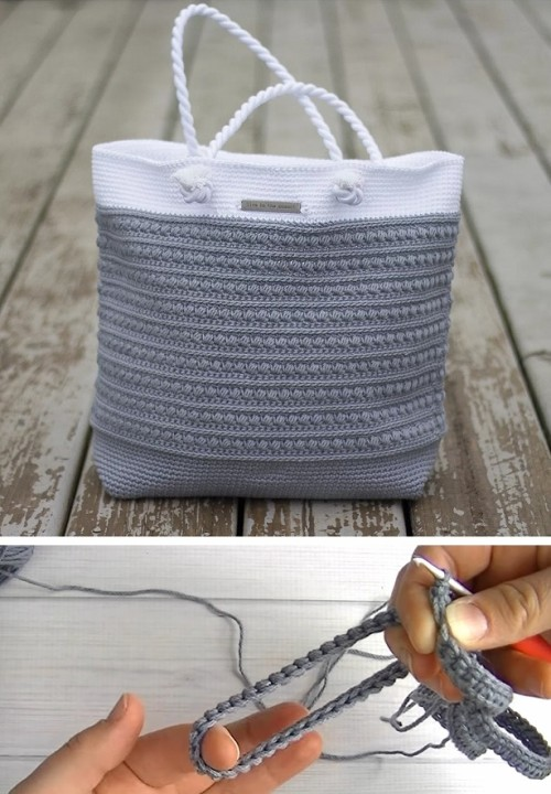Pretty Shoulder Bag - Free Pattern