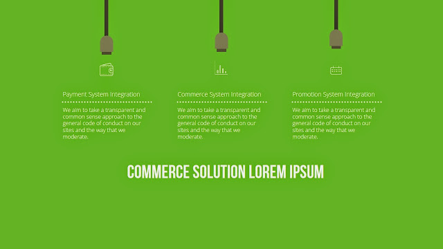 Free infographic ppt download with Mobile commerce services Slide2