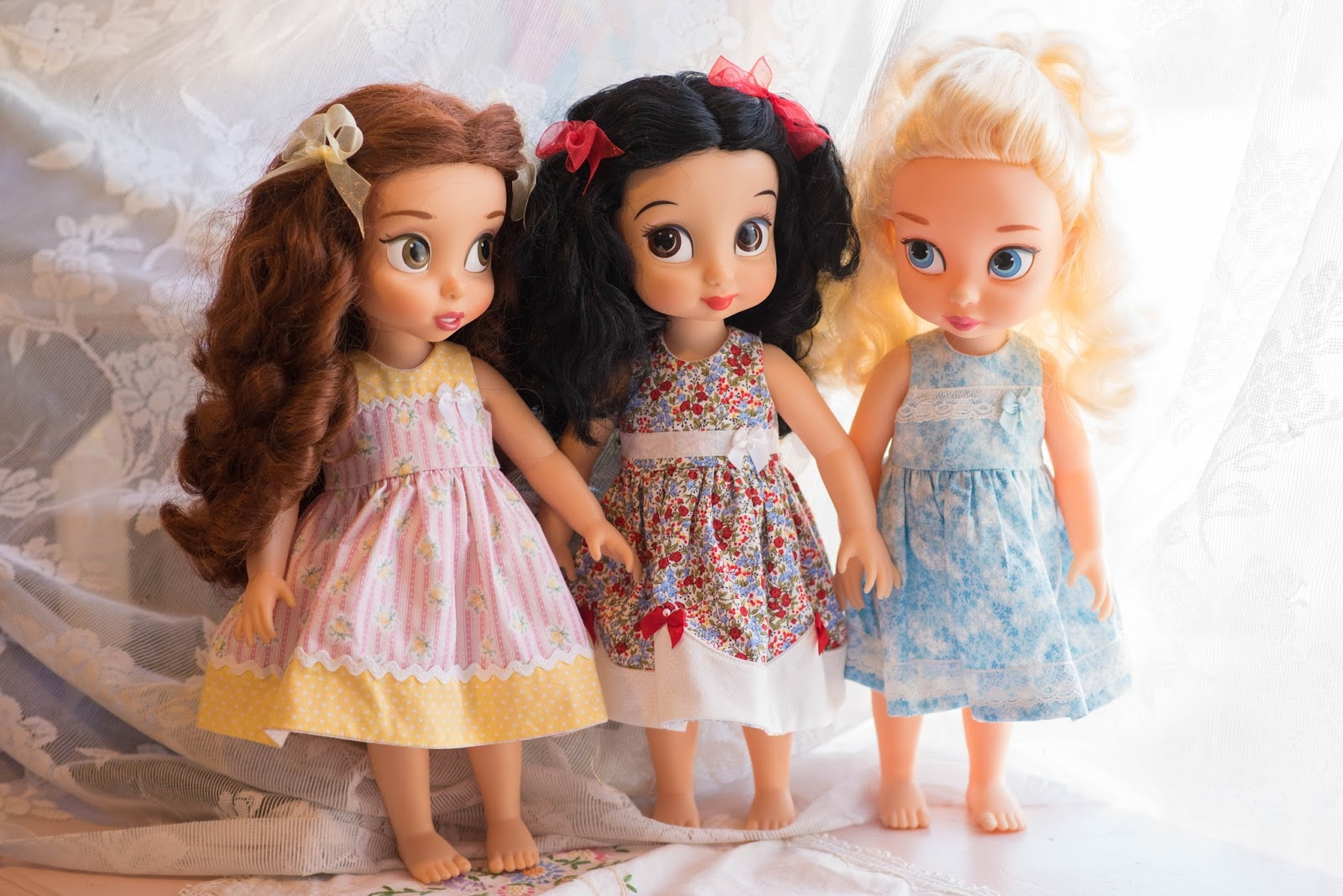 "White Tights for 16/"" Disney Animator dolls"
