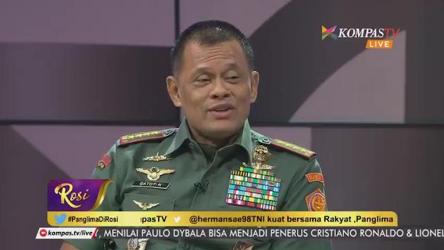 Bravo, Malam Ini di Talkshow Rosi Panglima TNI Bela Umat Islam Tak Mungkin Lakukan Makar