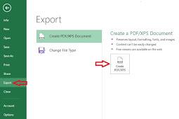 Cara Merubah File Word dan Excel Menjadi PDF