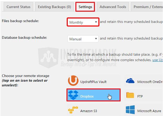 Cara Melakukan Backup Seluruh File Penting di CMS WordPress Secara Otomatis Menggunakan Plugin