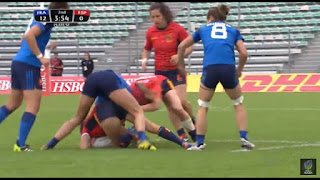 France vs Spain PyeongChang 2018 Rugby Sevens