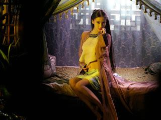 《黃飛鴻之英雄有夢》Angelababy穿肚兜上演動作戲 澡堂對決大反派15小時 - WoWoNews