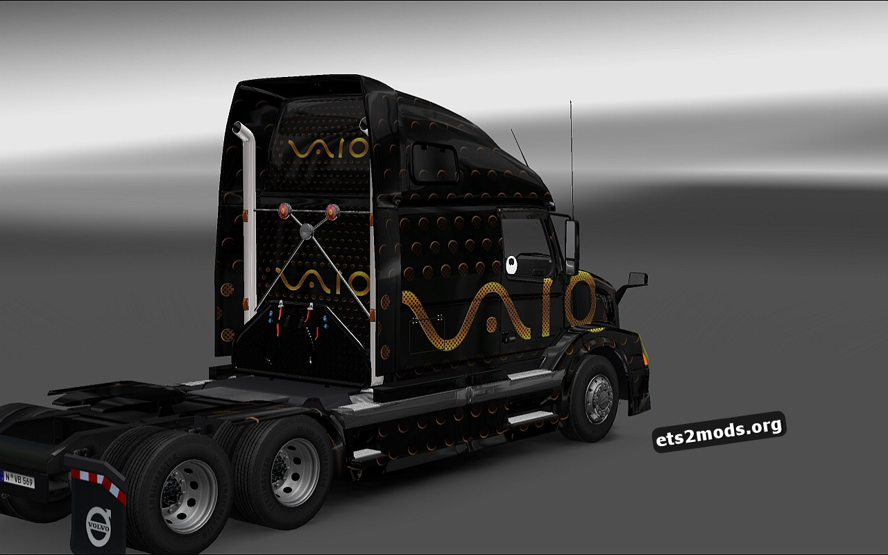 Sony Vaio Skin for Volvo VNL 670