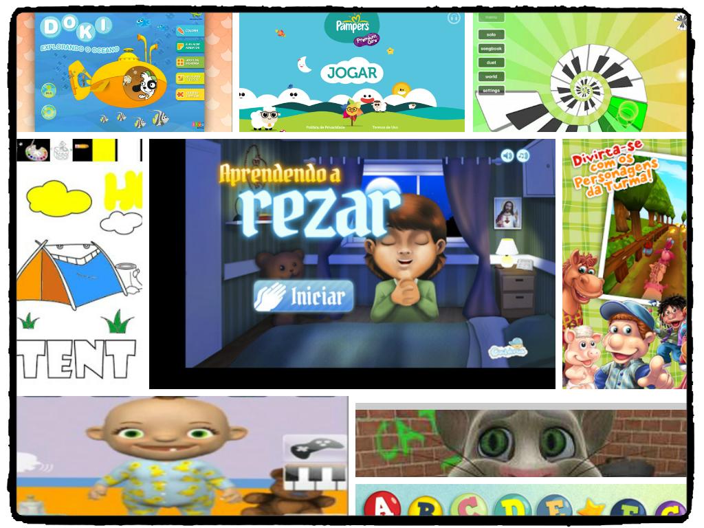 Aplicativos infantis para celular de Mães Corujas !