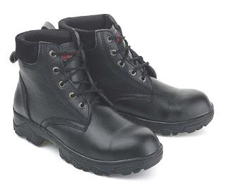 Sepatu Safety Model Boots Bertali LBU 532