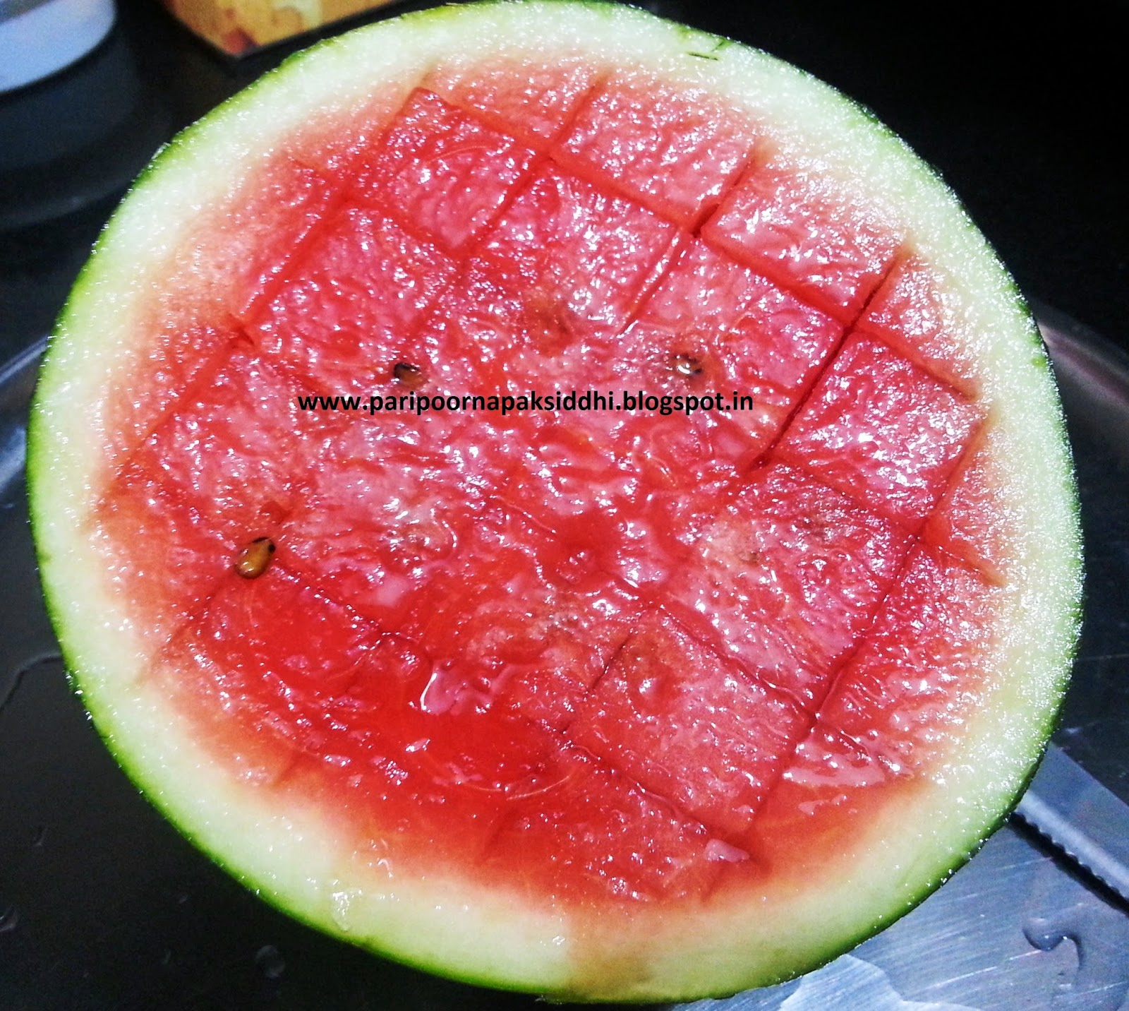 paripoorna paksiddhi watermelon sorbet. Black Bedroom Furniture Sets. Home Design Ideas