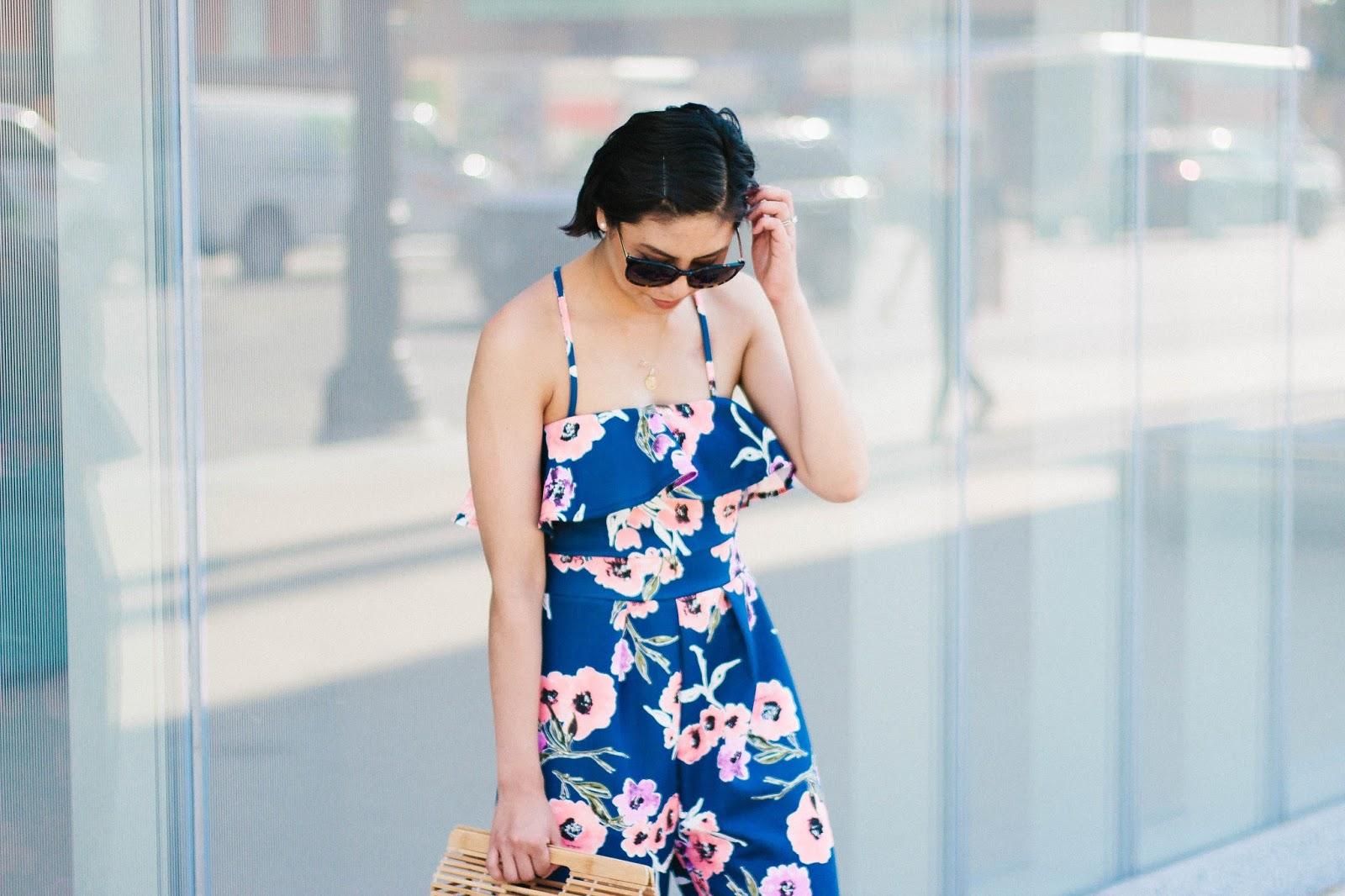 Seven Budget Friendly Floral Jumpsuit