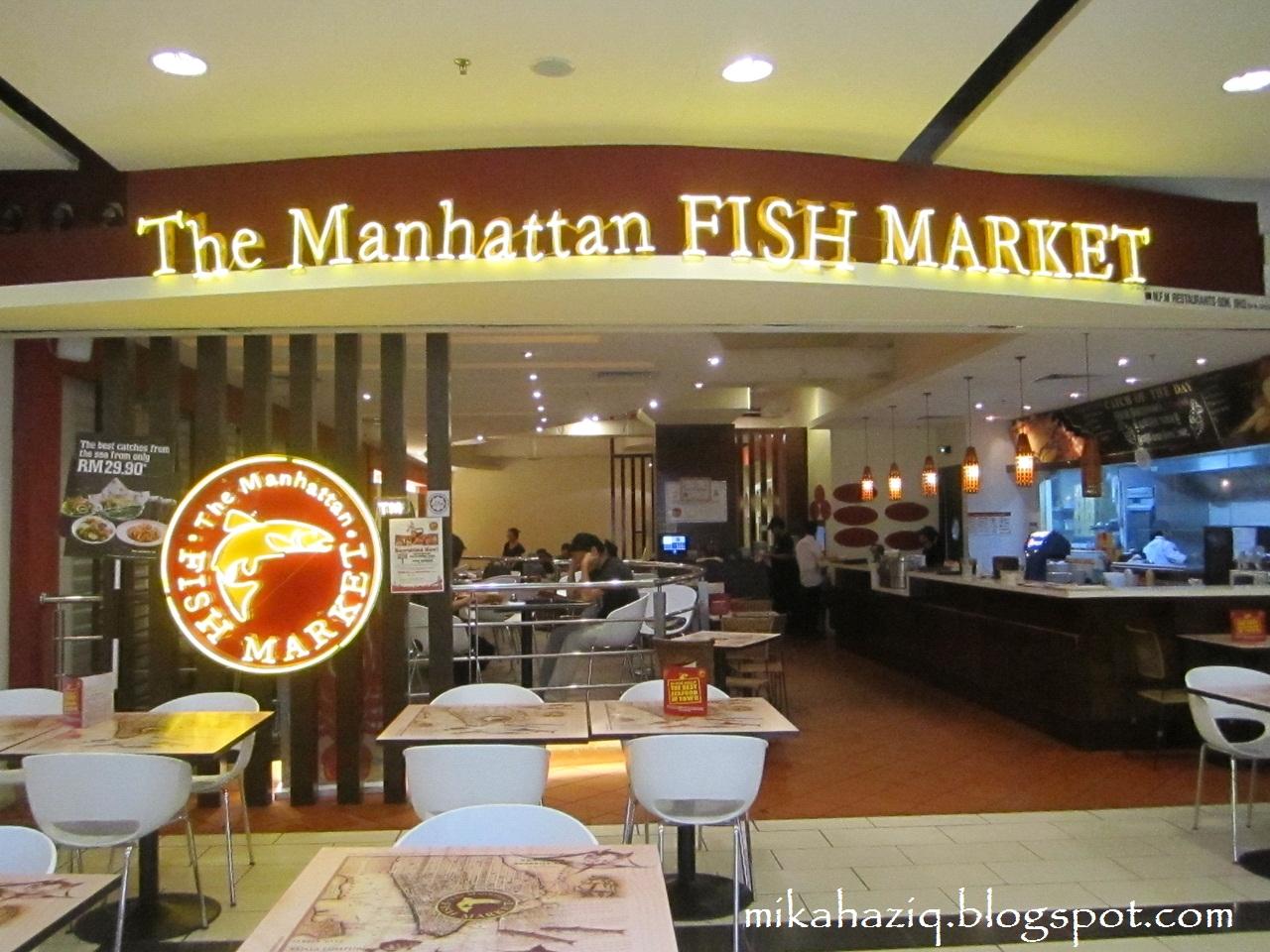 Mikahaziq the manhattan fish market kl for Fish market restaurant