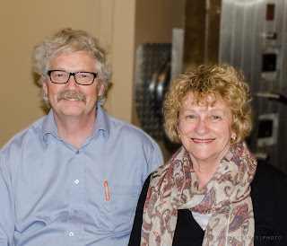 Bruce Rice, Sandra Birdsell - photo by Shelley Banks