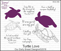 ODBD Turtle Love Stamp/Die Duos