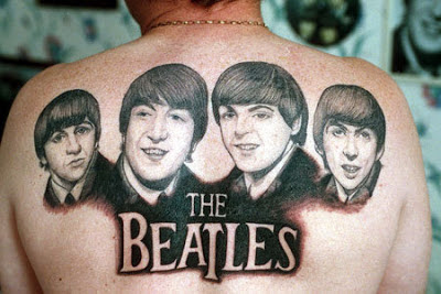 Tatuaje The Beatles