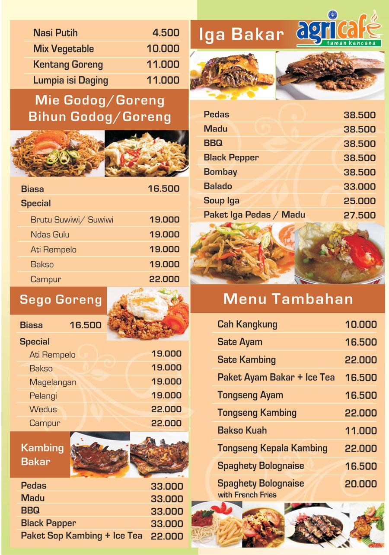 Gambar Desain Daftar Menu Makanan Contoh Minuman Sapawarga